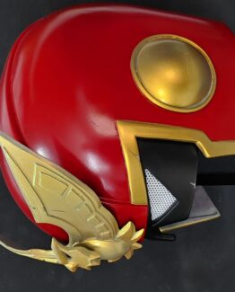 captain falcon fast zero cosplay props shoulder pouldron and shin guards