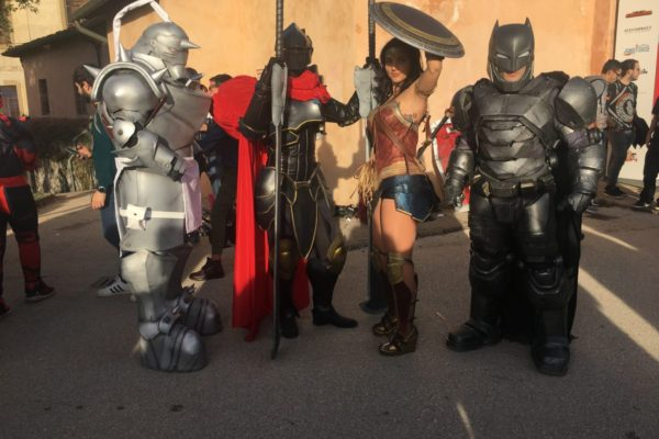 lucca comics waynefactory cosplay and costuming