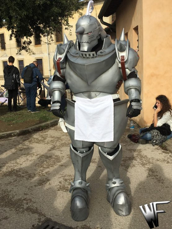 Costume complete of Alphonse Elric from anime Full Metal Alchemist