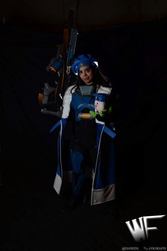 Ana Amari from league of legend videogames