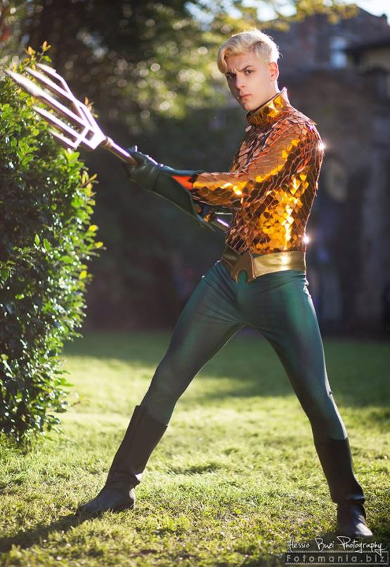 Aquaman cosplay