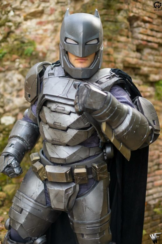 batman armor dawn of justice cosplay