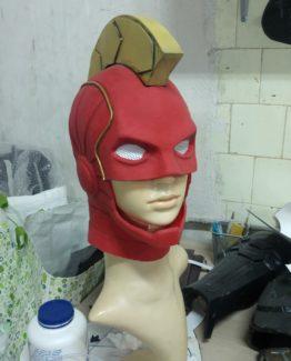 Captain marvel costume cosplay