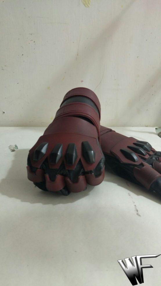 daredevil gloves cosplay netflix serie tv