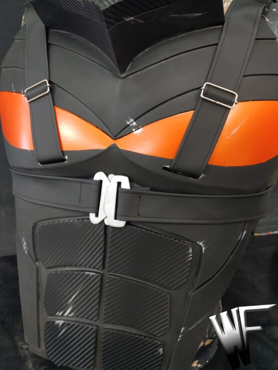 deathstroke armor cosplay inspired