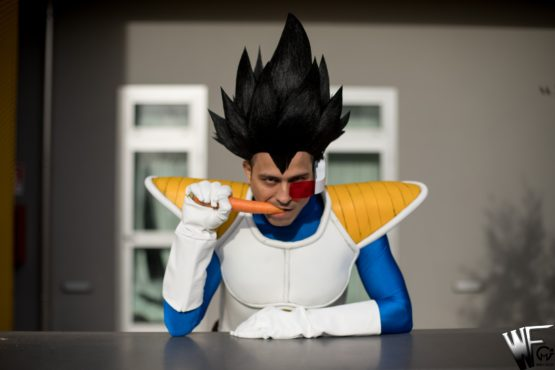 dragon ball vegeta cosplay
