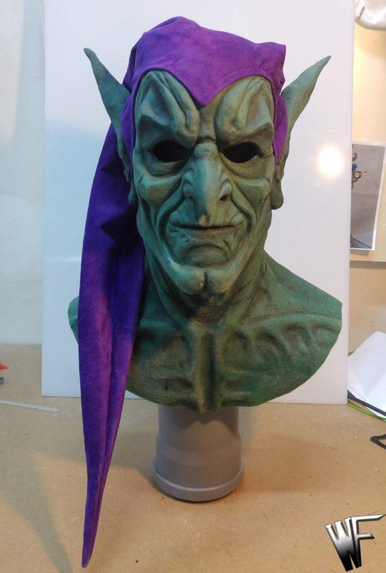 green goblin mask
