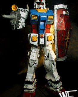 the gundam cosplay robot costume