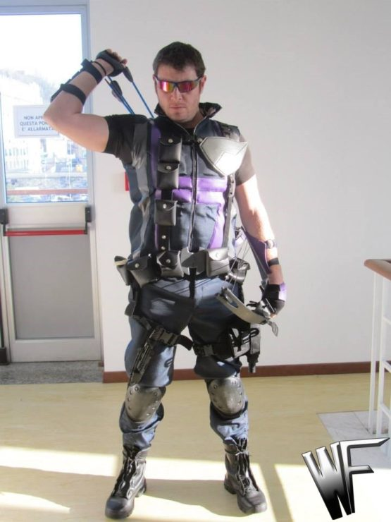 hawkeye cosplay costume Occhio di falco cosplay original