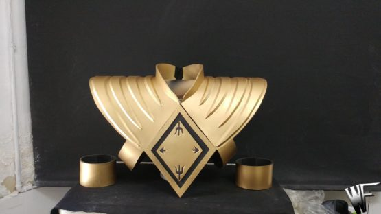 Power ranger cosplay dragon shield