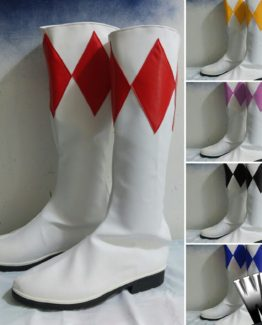 Power ranger cosplay boots