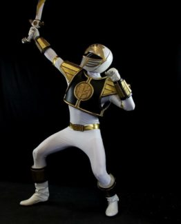 Power white ranger cosplay