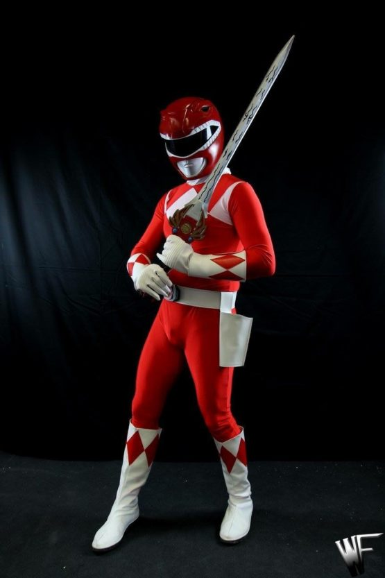 power ranger red cosplay