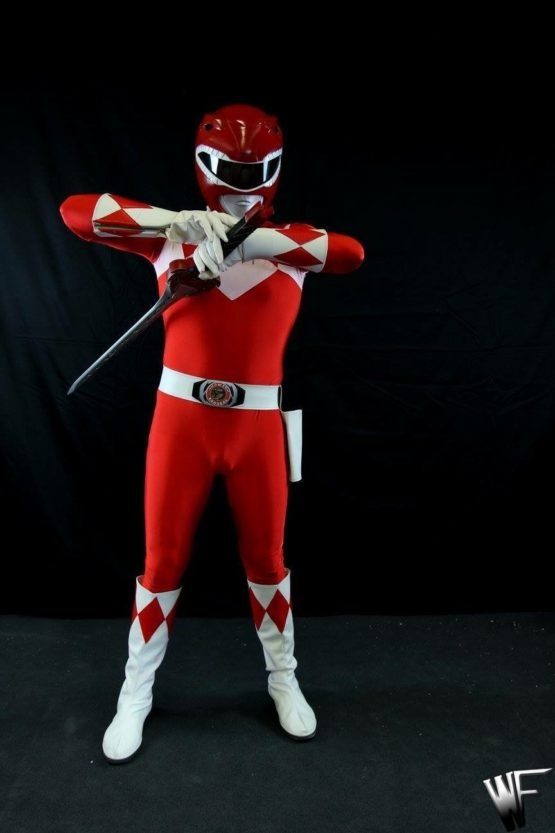 Power red ranger cosplay