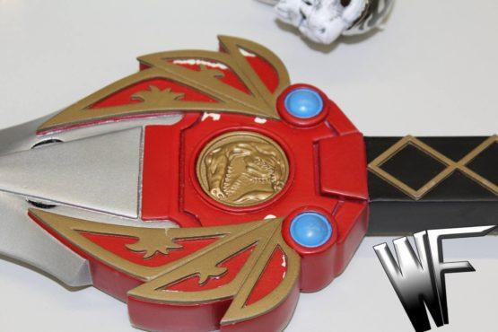 Power ranger cosplay sword Ryugekiken