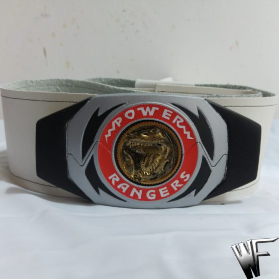 Power ranger cosplay buclke and belts