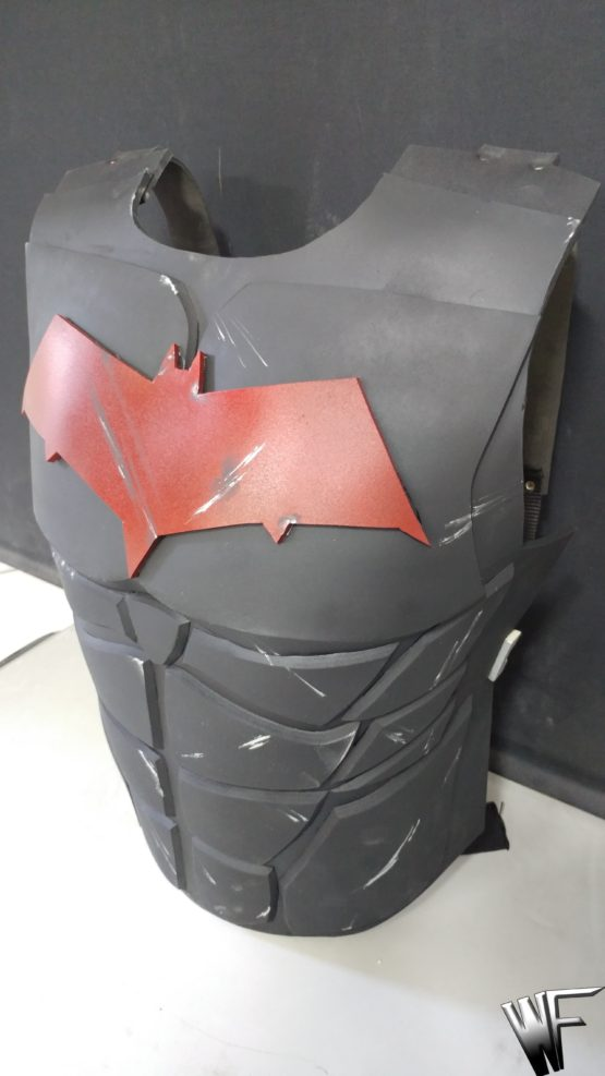 Red hood cosplay armor