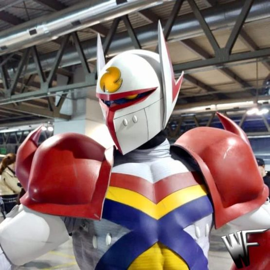 Tekkaman cosplay costume