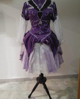 abito regina unicorno lady amaltea
