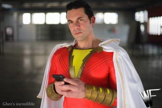 shazam cosplay costume