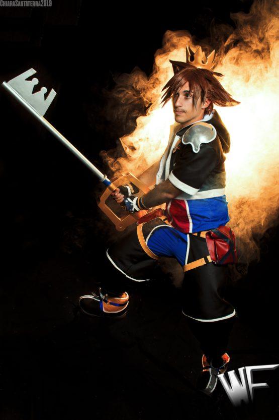 sora kingdom hearts cosplay costume