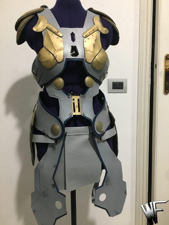 Valkirye thor ragnarock armor costume