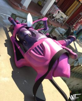 weapon armor jinx league of legend