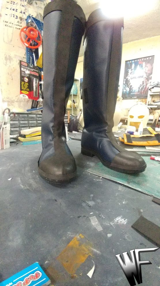 wolverine mask cosplay boots
