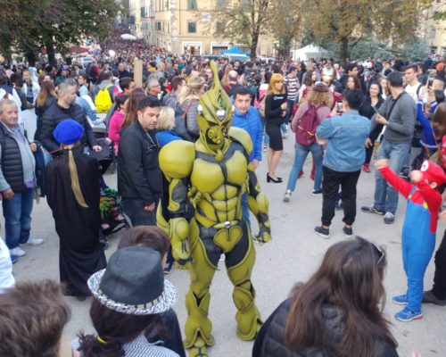 Lucca Comics 2019 waynefactory cosplay and costuming