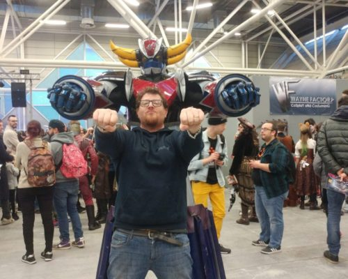 Goldrake cosplay costume bologna nerd show 2019 waynefatory cosplay and costuming