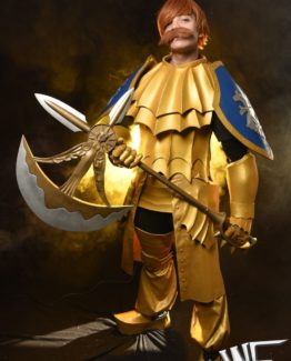 Escanor cosplay costume Seven Deadly Sins